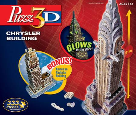 3D Jigsaw Puzzle - Chrysler Building