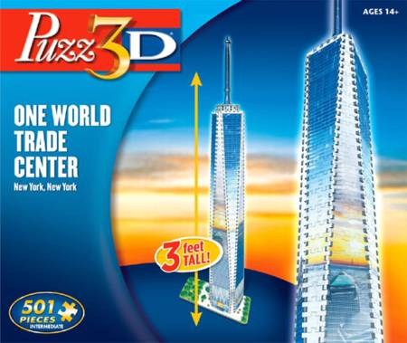 3D Jigsaw Puzzle - One World Trade