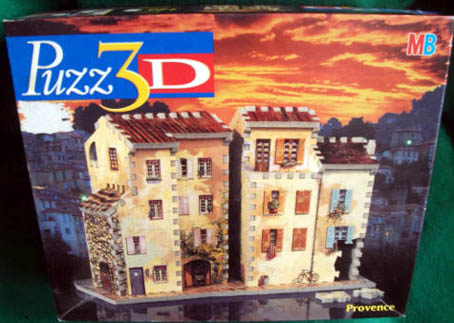 3D Jigsaw Puzzle - Provence - MB