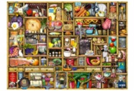 Wooden Jigsaw Puzzle - Kitchen Cupboard - 250 Pieces Wentworth Wooden Jigsaw Puzzle