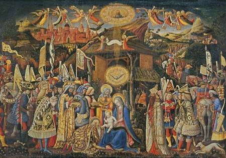 Wooden Jigsaw Puzzle - Adoration of the Magi (850704) - 500 Pieces