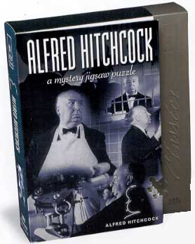 Mystery Jigsaw Puzzle - Alfred Hitchcock - 1000 Pieces