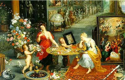 Jigsaw Puzzle - Allegory of Sight and Smell - 6000 Pieces Clementoni