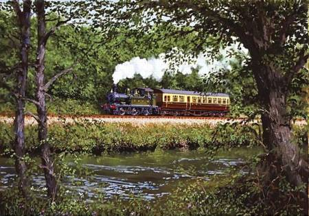 Wooden Jigsaw Puzzle - Along the Dart (741509) - 250 Pieces Wentworth