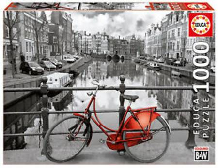 Jigsaw Puzzle - Amsterdam (14846) - 1000 Pieces Educa