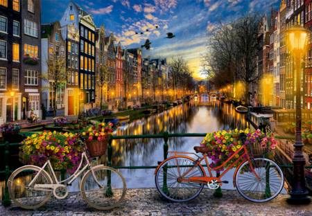 Jigsaw Puzzle - Amsterdam With Love (#17127) - 2000 Pieces Educa