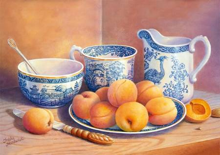 Jigsaw Puzzle - Velvet Collection - Apricot Dessert (10509)