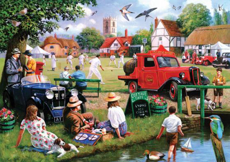 Wooden Jigsaw Puzzle - A Summer Fair - 250 Pieces Wentworth