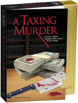 Mystery Jigsaw Puzzle - A Taxing Murder - 1000 Pieces