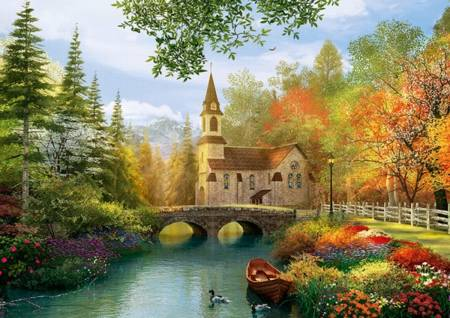 Jigsaw Puzzle - Autumn Nostalgia - 4000 Pieces Trefl