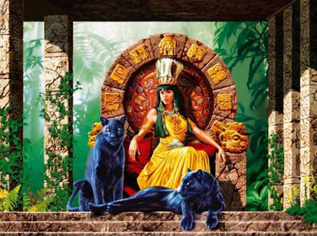 Jigsaw Puzzle - Aztec Queen - 1000 Pieces Clementoni