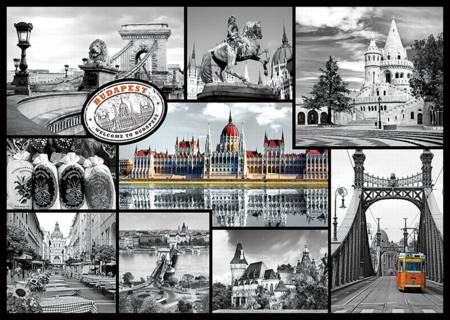 Jigsaw Puzzle - Budapest - Collage (10347)