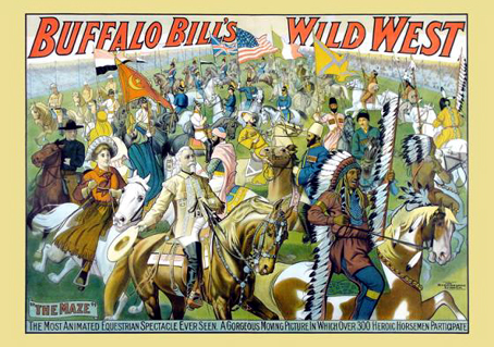 Wooden Jigsaw Puzzle - Buffalo Bill - 250 Pieces Wentworth