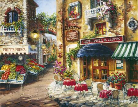 Jigsaw Puzzle - Buon Appetito (33530) - 3000 Pieces Clementoni