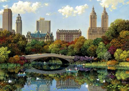 Jigsaw Puzzle - Central Park (#17136) - 8000 Pieces Educa