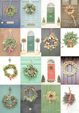Wooden Jigsaw Puzzle - Christmas Doors - 500 Pieces Wentworth