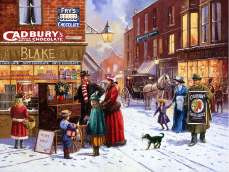 Wooden Jigsaw Puzzle - London - Christmas Music - 250 Pieces Wentworth