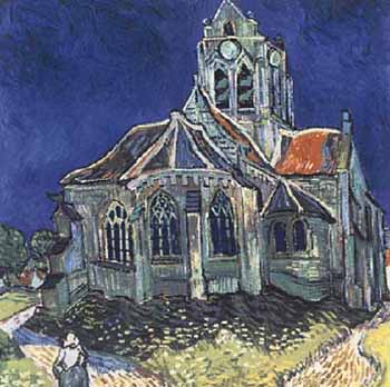 Jigsaw Puzzle - Church at Auvers - 500 Pieces Battle Road Press