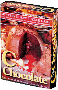 Mystery Jigsaw Puzzle - C is for Chocolate - 2 500 Piece Puzzles