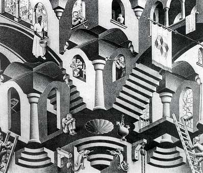 Jigsaw Puzzle - Concave and Convex - 1000 Pieces Escher