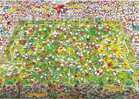 Jigsaw Puzzle - Crazy World Cup (#29072) - 4000 Pieces Heye