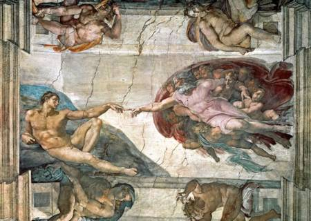 Jigsaw Puzzle - Creation of Adam (10293)