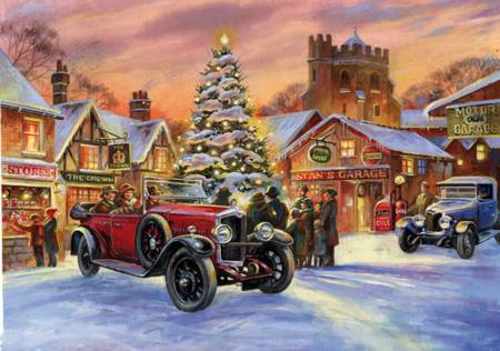 Wooden Jigsaw Puzzle - Crossley and Carols (#652708) - 250 Pieces Wentworth Wooden Jigsaw Puzzle