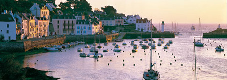 Jigsaw Puzzle - Dawn in Belle-Ile-En-Mer (Panoramic Image) - 1000 Pieces  Educa