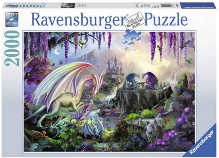Jigsaw Puzzle - Dragon Valley (#16707) - 2000 Pieces Ravensburger