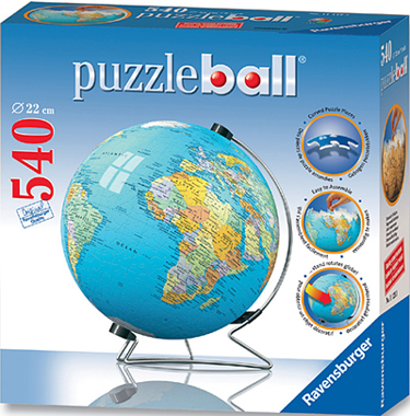 3D Jigsaw Puzzle - The Earth (#12427) - Ravensburger