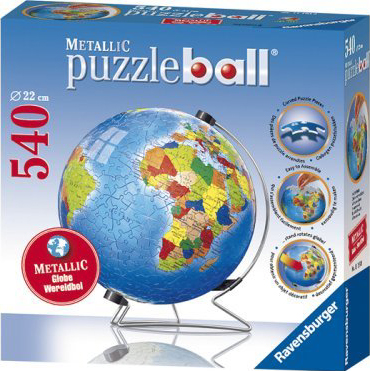 3D Jigsaw Puzzle - Metallic Earth - Ravensburger