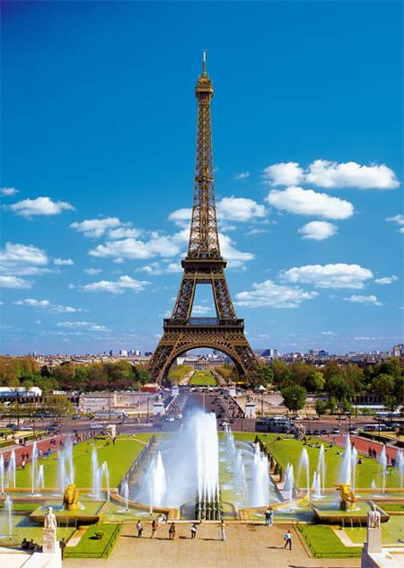 Jigsaw Puzzle - Eiffel Tower (27051)