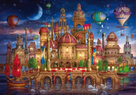 Wooden Jigsaw Puzzle - Fantasy Place (#710513) - 500 Pieces Wentworth