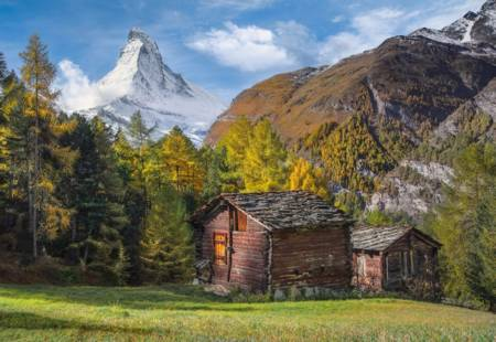 Jigsaw Puzzle - Fascination with Matterhorn (32561) - 2000 Pieces Clementoni