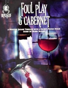 Mystery Jigsaw Puzzle - Foul Play and Cabernet - 1000 Pieces