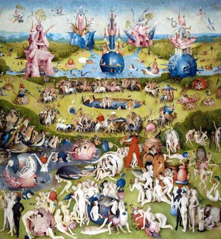 Jigsaw Puzzle - Garden of Earthly Delights (#2801N16057G) - 1000 Pieces Ricordi