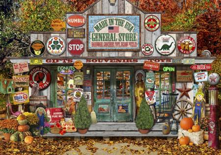 Wooden Jigsaw Puzzle - General Store (#801808) - 250 Pieces