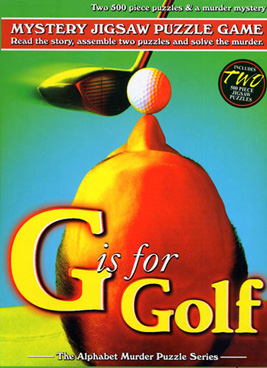 Mystery Jigsaw Puzzle - G is for Golf - 2 500 Piece Puzzles