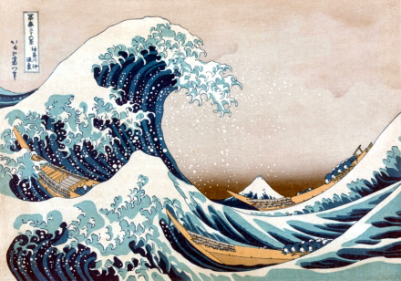 Wooden Jigsaw Puzzle - Great Wave (633304) - 500 Pieces Wentworth