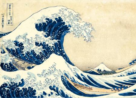 Jigsaw Puzzle - Great Wave (#39378) - 1000 Pieces Clementoni