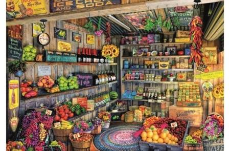 Jigsaw Puzzle - Grocery Shop (#17128) - 2000 Pieces Educa