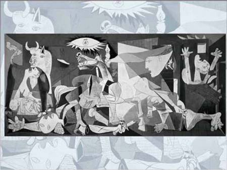 Jigsaw Puzzle - Guernica (#2801N14572G) - 1000 Pieces Ricordi