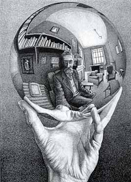 Jigsaw Puzzle - Hand With Globe - 1000 Pieces Escher