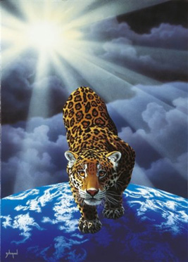 Jigsaw Puzzle - Between Heaven and Earth (Leopard) (#30813) - 1000 Pieces  Clementon