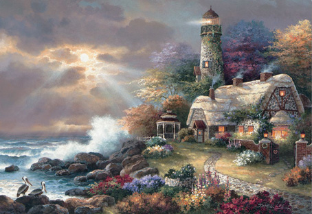 Jigsaw Puzzle - Heavens Light - 2000 Pieces Educa