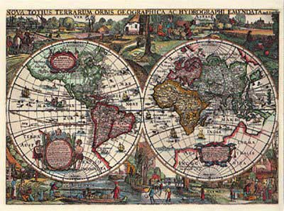 Jigsaw Puzzle - Historical World Map: 1636 - 1500 Pieces Ravensburger