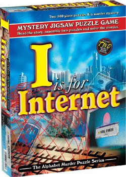 Mystery Jigsaw Puzzle - I is for Internet - 2 500 Piece Puzzles