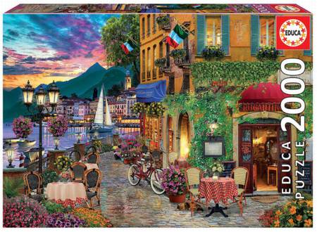 Jigsaw Puzzle - Italian Fascino (18009) - 2000 Pieces Educa