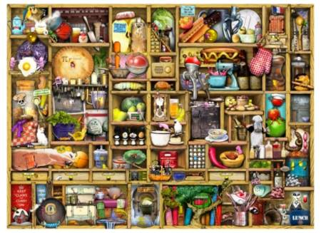 Wooden Jigsaw Puzzle - Kitchen Cupboard (#602913) - 250 Pieces Wentworth