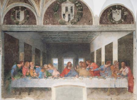 Jigsaw Puzzle - Last Supper (#31447) (Leonardo) - 1000 Pieces Clementoni